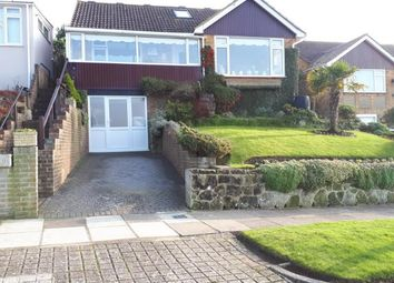 Thumbnail 3 bed bungalow for sale in Greenbank Avenue, Saltdean, Brighton, East Sussex