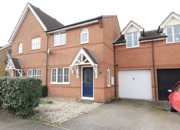 Thumbnail 2 bed semi-detached house for sale in Lomond Way, Stevenage
