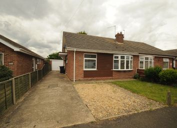 Thumbnail 2 bed semi-detached bungalow to rent in The Close, Hemsby. Great Yarmouth