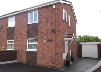 Thumbnail 2 bed semi-detached house for sale in Chestnut Close, Kingsbury, Tamworth, Staffordshire