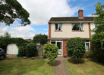 Thumbnail 3 bed semi-detached house for sale in West Garth Road, Cowley, Exeter