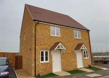 Thumbnail 2 bed semi-detached house for sale in Long Meadow Walk, Little Stanion, Corby