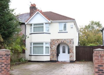 Thumbnail 4 bed semi-detached house for sale in Davenham Road, Formby, Liverpool