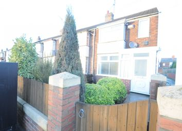 Thumbnail 2 bedroom end terrace house for sale in Hedon Road, Hull, North Humberside