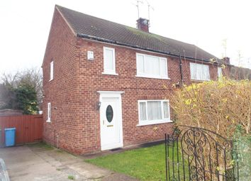 Thumbnail 2 bed semi-detached house for sale in Lindrick Close, Carlton-In-Lindrick, Worksop