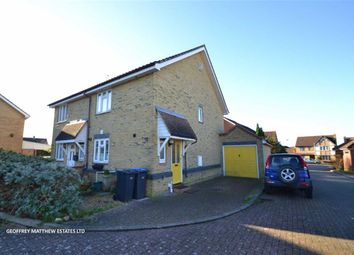 Thumbnail 2 bed semi-detached house for sale in Ashworth Place, Church Langley, Essex