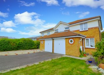 Thumbnail 3 bed semi-detached house for sale in Chevening Court, Southsea