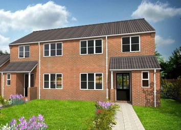 Thumbnail 3 bed semi-detached house for sale in Cumberland Way, Scampton, Lincoln