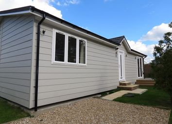 Thumbnail 2 bed mobile/park home for sale in Hailsham, East Sussex