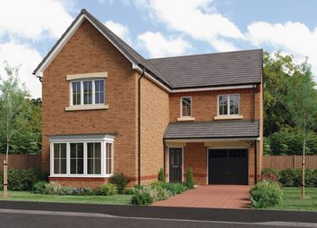 Thumbnail 4 bed detached house for sale in Creswell Court, Hadston, Morpeth