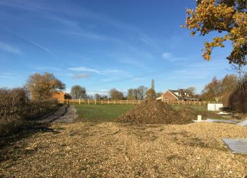 Thumbnail Land for sale in Stable Lodge, Walsham Road, Wattisfield, Suffolk