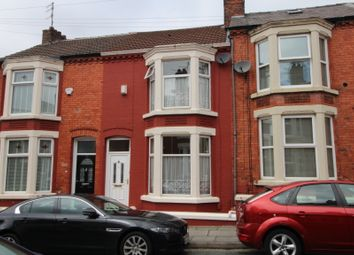Thumbnail 3 bedroom terraced house for sale in Lucan Road, Aigburth