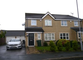 Thumbnail 3 bed semi-detached house to rent in Woolcombers Way, Laisterdyke, Bradford