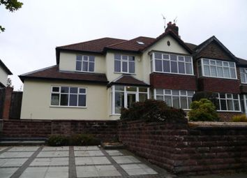 Thumbnail 5 bed semi-detached house for sale in Mather Avenue, Allerton, Liverpool
