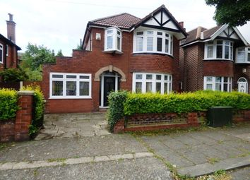 Thumbnail 3 bed detached house to rent in Stothard Road, Stretford, Manchester