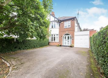 Thumbnail 3 bedroom semi-detached house for sale in Leicester Road, Glen Parva, Leicester