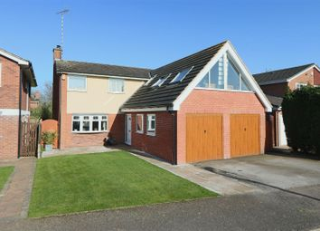 Thumbnail 5 bed detached house for sale in Buckland Drive, Woodborough, Nottingham