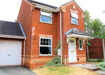 Thumbnail 3 bed link-detached house for sale in Charlecote Walk, Attleborough, Nuneaton, Warwickshire