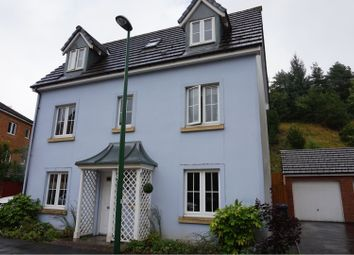 Thumbnail 4 bed detached house to rent in Heol Cae Ffwrnais, Ebbw Vale