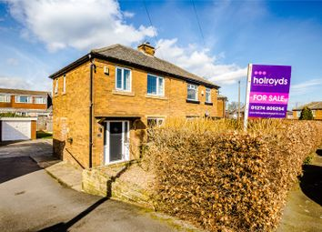 Thumbnail 2 bed semi-detached house for sale in Moorside Gardens, Bradford, West Yorkshire