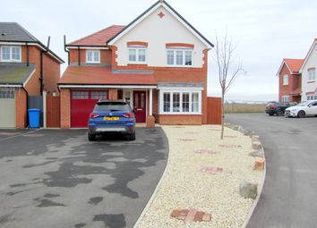 Thumbnail 4 bed detached house for sale in Ffordd Aberkinsey, Rhyl