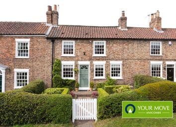 Thumbnail 3 bed terraced house for sale in Church Street, Dunnington, York