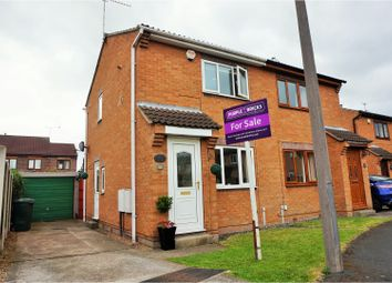 Thumbnail 2 bed semi-detached house for sale in Pasture Close, Armthorpe, Doncaster