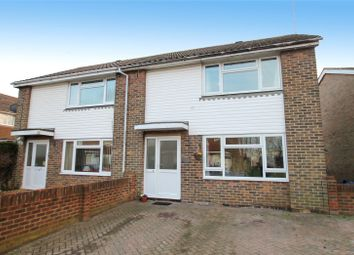 Thumbnail 2 bed semi-detached house for sale in Canterbury Road, Rustington, West Sussex