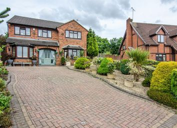 Thumbnail 4 bed detached house for sale in Heather Valley, Cannock Chase, Hednesford
