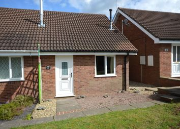 Thumbnail 1 bed bungalow to rent in Grasmere Avenue, Perton, Wolverhampton