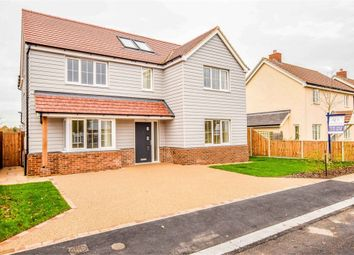 Thumbnail 4 bedroom detached house for sale in St Marys Road, Great Bentley, Colchester, Essex