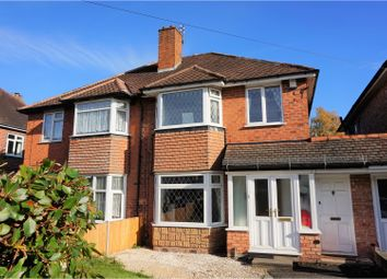Thumbnail 3 bed semi-detached house for sale in Ivy Road, Sutton Coldfield