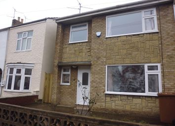 Thumbnail 3 bed semi-detached house to rent in Garton End Road, Peterborough, Cambridgeshire.
