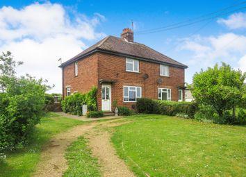 Thumbnail 3 bed semi-detached house for sale in Hillside, Sedgeford, Hunstanton