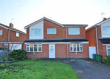 Thumbnail 4 bed detached house for sale in Attfield Drive, Whetstone, Leicester