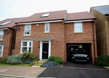 Thumbnail 4 bed detached house for sale in Oulton Close, Burton Latimer, Kettering, Northamptonshire.