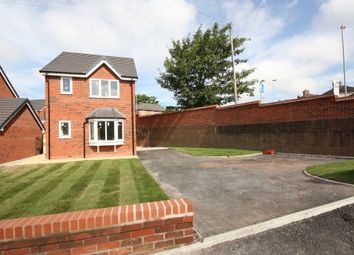 Thumbnail 3 bed detached house for sale in Hurst Close, Talke Pits, Stoke-On-Trent