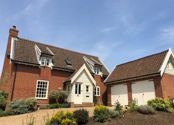 Thumbnail 4 bed detached house for sale in Mill Road, Friston, Saxmundham