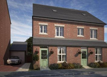 "Thumbnail 3 bedroom semi-detached house for sale in ""Woodstone"" at Whitworth Park Drive, Houghton Le Spring"