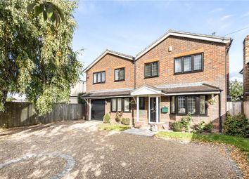 Thumbnail 4 bed detached house for sale in School Lane, Addlestone, Surrey