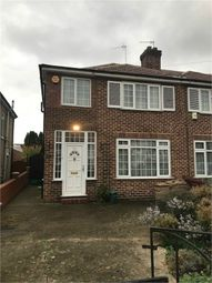 Thumbnail 3 bed semi-detached house to rent in Daryngton Drive, Greenford, Greater London