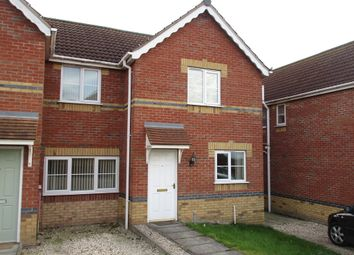 Thumbnail 2 bed semi-detached house to rent in Juniper Way, Gainsborough