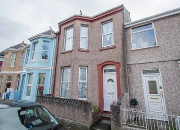 Thumbnail 3 bed terraced house for sale in St. Leonards Road, Plymouth