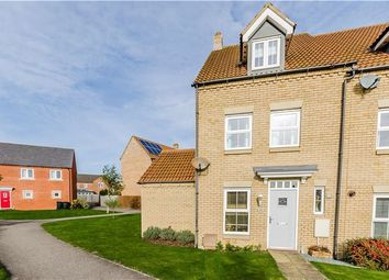 Thumbnail 3 bedroom end terrace house for sale in Kings Avenue, Ely