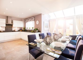 "Thumbnail 4 bed detached house for sale in ""The Hemsley"" at Redbridge Lane, Nursling, Southampton"