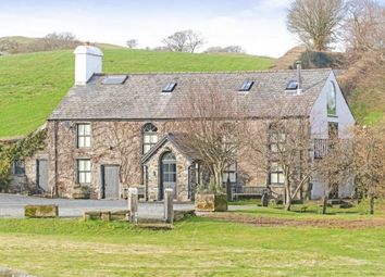 Thumbnail 5 bed equestrian property for sale in Maenan, Conwy