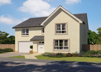 "Thumbnail 4 bed detached house for sale in ""Dunbar"" at Abbey Road, Elderslie, Johnstone"