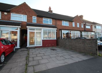 Thumbnail 3 bed terraced house to rent in Lyndon Road, Rednal