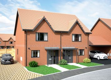 Thumbnail 3 bed terraced house for sale in Roundel, Wootton, Bedford - Bedfordshire