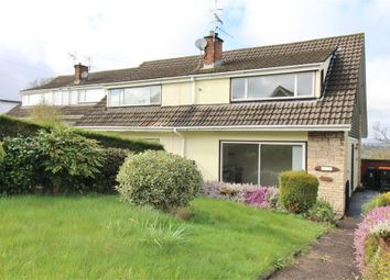 Thumbnail 3 bed semi-detached house for sale in Northfield Close, Caerleon, Newport